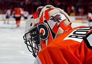 Former TC Americans, Current Philadelphia Flyers Goaltender Brian Boucher