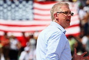 "Glenn Beck at his ""Restoring Honor"" Rally At Lincoln Memorial"
