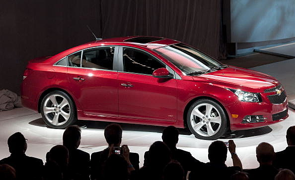General Motors' Chevrolet Cruze RS