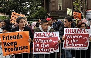 Obama Protestors