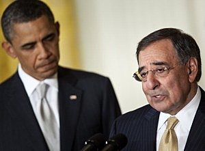 CIA Director Leon Panetta with President Obama