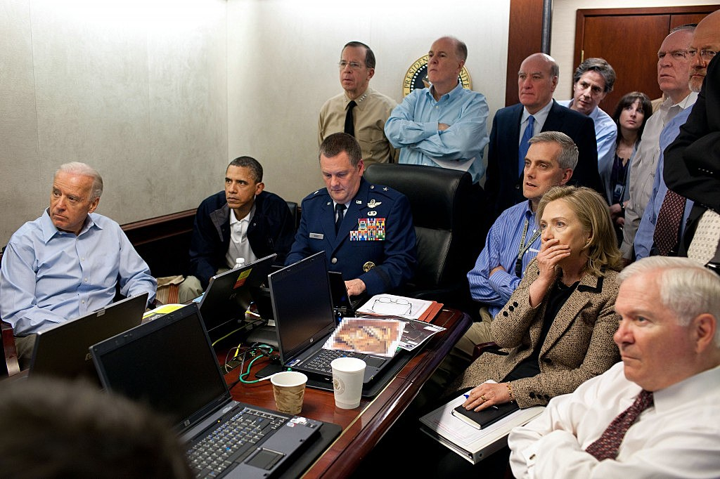 White House watches mission against Osama bin Laden