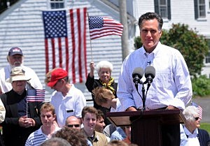 Mitt Romney Announces Candidacy For The Republican Presidential Nomination