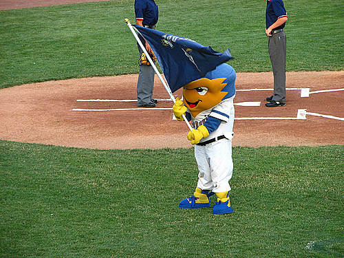 Tri City Dust Devils Mascot, Dusty