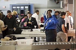 TSA checkpoint JFK Airport