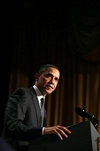 Obama at chicago fundraiser