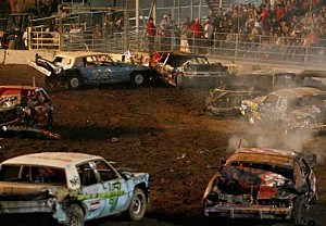 Demo Derby At Benton Franklin Fair