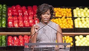 michelle obama food campaign