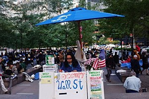Protesters Continue Wall Street Occupation