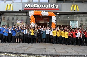 McDonalds Workers-London