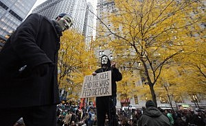 Occupy Marchers Spark Violence