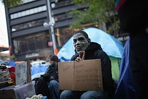 Occupy Protestor