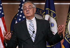 Barney Frank Holds Capitol Press Conference About His Retirement