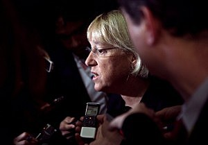 Senator Patty Murray Speaks On Progress Of Super Committee
