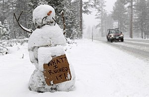 Frosty The Snowman is ready