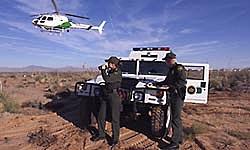 Border Patrol in Remote Area