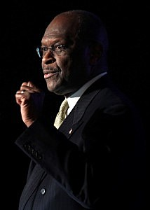 Herman Cain suspends campaign