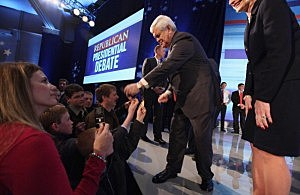 Newt Gingrich on Campaign Trail