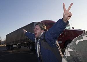 Occupy Protestors Attempt To Block Portland Ports
