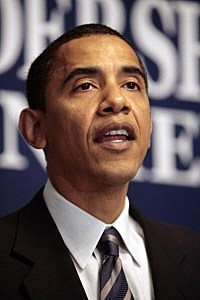 Obama meets with liberal, progressive journalists-hosts