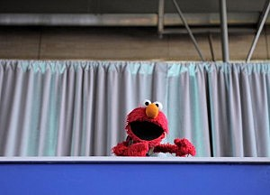 Sesame Street Characters pushing Federal Programs