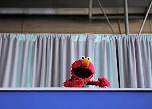 Sesame Street Characters pushing Federal Programs