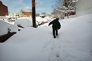 For some, record snowfall in early 2011