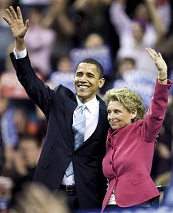 Gov. Gregoire And Obama
