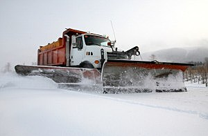 Thieves steal School district's snowplow