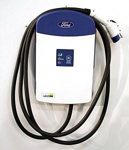 Hybrid car charging unit