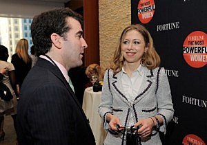 Chelsea Clinton benefits from 'name' at NBC