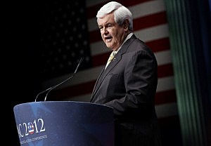 Newt Gringrich Visits Tri Cities