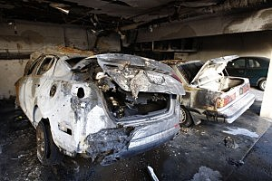 stolen burned cars