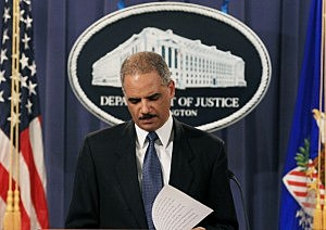 Another blow for Eric Holder