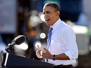 Obama in Vegas