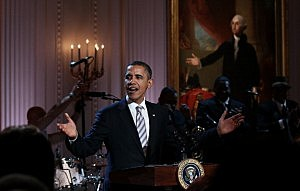 Obama confident in re-election