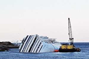 Costa Concordia Defueling Procedures