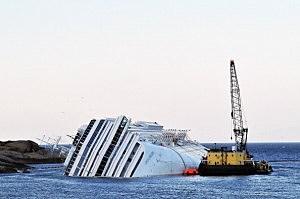 Costa Concordia Defueling Procedures