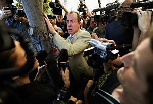 political photographers swarming