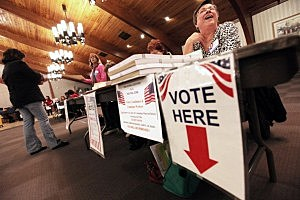 Voters Head To Polls On Super Tuesday