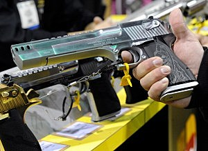 tax refunds used for handguns