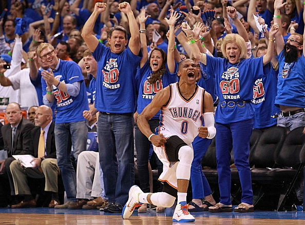 Thunder bounce Lakers from 2012 playoffs
