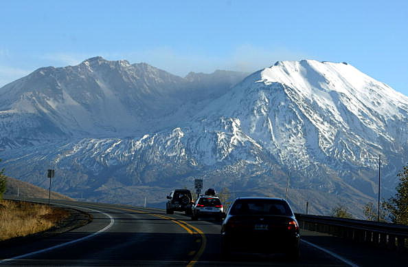 Mount St Helens--what is left