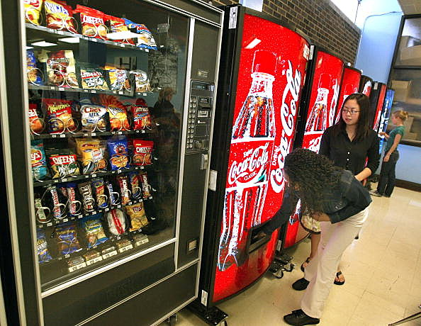 Utah High School fined for not turning off vending machines
