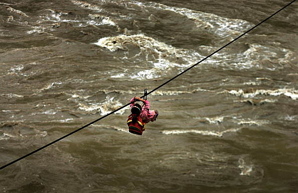 101 year old woman zip lines