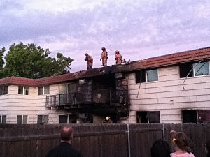 Richland apartment fire