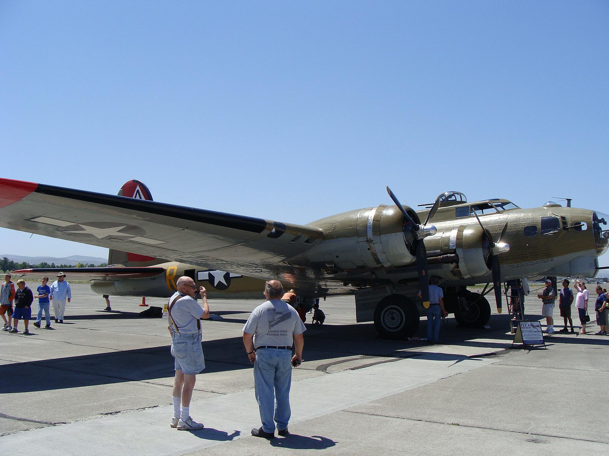 B-17 at Bergstrom Aircraft