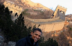 Obama campaign shilling for money in China
