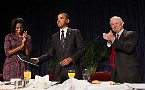 Obama disses Tebow to Jets Fans