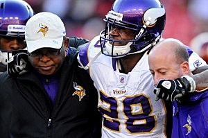 Vikings trying to protect star running back